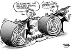 Cartoonist Dwane Powell  Dwane Powell's Editorial Cartoons 2005-02-25 roll