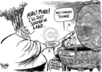 Cartoonist Dwane Powell  Dwane Powell's Editorial Cartoons 2004-10-28 natural