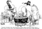 Dwane Powell  Dwane Powell's Editorial Cartoons 2004-11-01 2004 election