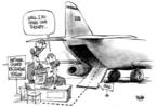 Cartoonist Dwane Powell  Dwane Powell's Editorial Cartoons 2004-12-02 Iraq war