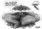 Cartoonist Dwane Powell  Dwane Powell's Editorial Cartoons 2004-12-13 Intel