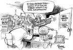Cartoonist Dwane Powell  Dwane Powell's Editorial Cartoons 2004-12-23 roll