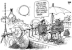 Cartoonist Dwane Powell  Dwane Powell's Editorial Cartoons 2005-01-07 Christmas