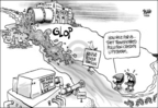 Cartoonist Dwane Powell  Dwane Powell's Editorial Cartoons 2005-03-18 wildlife