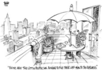 Cartoonist Dwane Powell  Dwane Powell's Editorial Cartoons 2005-04-15 affluence