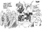 Cartoonist Dwane Powell  Dwane Powell's Editorial Cartoons 2005-04-21 maybe