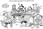 Cartoonist Dwane Powell  Dwane Powell's Editorial Cartoons 2005-06-04 regulate
