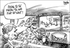 Cartoonist Dwane Powell  Dwane Powell's Editorial Cartoons 2005-07-03 'til