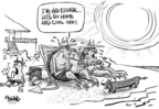 Cartoonist Dwane Powell  Dwane Powell's Editorial Cartoons 2005-07-27 summer