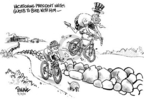 Cartoonist Dwane Powell  Dwane Powell's Editorial Cartoons 2005-08-18 ride