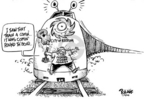 Cartoonist Dwane Powell  Dwane Powell's Editorial Cartoons 2005-09-04 natural