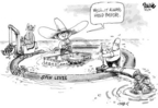 Cartoonist Dwane Powell  Dwane Powell's Editorial Cartoons 2005-09-12 natural