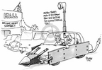 Cartoonist Dwane Powell  Dwane Powell's Editorial Cartoons 2005-11-29 Christmas