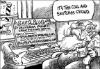 Cartoonist Dwane Powell  Dwane Powell's Editorial Cartoons 2005-12-25 elf