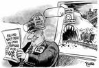 Cartoonist Dwane Powell  Dwane Powell's Editorial Cartoons 2006-01-06 disaster
