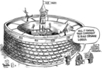 Cartoonist Dwane Powell  Dwane Powell's Editorial Cartoons 2006-01-30 hurricane