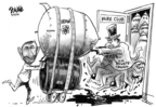 Cartoonist Dwane Powell  Dwane Powell's Editorial Cartoons 2006-03-15 Russia