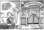 Cartoonist Dwane Powell  Dwane Powell's Editorial Cartoons 2006-03-27 responsibility