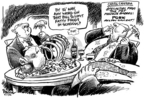 Cartoonist Dwane Powell  Dwane Powell's Editorial Cartoons 2006-04-07 political lobby