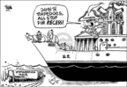 Cartoonist Dwane Powell  Dwane Powell's Editorial Cartoons 2006-04-12 politics