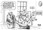 Cartoonist Dwane Powell  Dwane Powell's Editorial Cartoons 2006-05-02 politics
