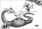 Cartoonist Dwane Powell  Dwane Powell's Editorial Cartoons 2006-04-27 politics
