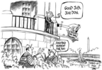 Cartoonist Dwane Powell  Dwane Powell's Editorial Cartoons 2006-05-31 gardening