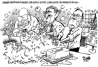 Cartoonist Dwane Powell  Dwane Powell's Editorial Cartoons 2006-09-14 war