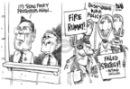 Cartoonist Dwane Powell  Dwane Powell's Editorial Cartoons 2006-09-28 league