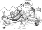 Cartoonist Dwane Powell  Dwane Powell's Editorial Cartoons 2006-10-05 bin