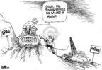 Cartoonist Dwane Powell  Dwane Powell's Editorial Cartoons 2006-10-06 war