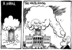 Cartoonist Dwane Powell  Dwane Powell's Editorial Cartoons 2006-10-13 North Korea
