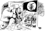 Cartoonist Dwane Powell  Dwane Powell's Editorial Cartoons 2006-10-30 Halloween