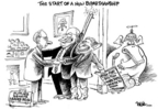 Cartoonist Dwane Powell  Dwane Powell's Editorial Cartoons 2006-11-13 representative