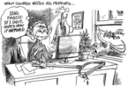 Cartoonist Dwane Powell  Dwane Powell's Editorial Cartoons 2006-11-21 responsibility