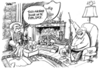 Cartoonist Dwane Powell  Dwane Powell's Editorial Cartoons 2006-12-11 responsibility