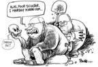 Cartoonist Dwane Powell  Dwane Powell's Editorial Cartoons 2007-03-07 him