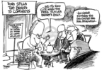 Cartoonist Dwane Powell  Dwane Powell's Editorial Cartoons 2007-03-23 roll