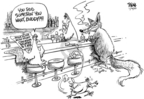 Cartoonist Dwane Powell  Dwane Powell's Editorial Cartoons 2007-04-16 science
