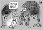 Cartoonist Dwane Powell  Dwane Powell's Editorial Cartoons 2007-04-30 tunnel