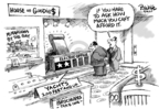 Cartoonist Dwane Powell  Dwane Powell's Editorial Cartoons 2007-05-16 affluence