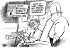 Cartoonist Dwane Powell  Dwane Powell's Editorial Cartoons 2007-06-08 maybe
