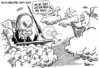 Cartoonist Dwane Powell  Dwane Powell's Editorial Cartoons 2007-07-12 him