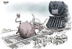 Cartoonist Dwane Powell  Dwane Powell's Editorial Cartoons 2007-08-15 economy
