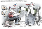 Cartoonist Dwane Powell  Dwane Powell's Editorial Cartoons 2007-08-15 Mitt