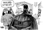 Cartoonist Dwane Powell  Dwane Powell's Editorial Cartoons 2007-10-26 Halloween