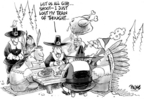 Cartoonist Dwane Powell  Dwane Powell's Editorial Cartoons 2007-11-23 Christmas
