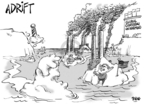 Cartoonist Dwane Powell  Dwane Powell's Editorial Cartoons 2007-12-13 endangered species