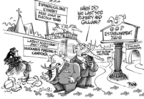 Cartoonist Dwane Powell  Dwane Powell's Editorial Cartoons 2007-12-23 zoo