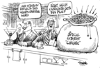 Cartoonist Dwane Powell  Dwane Powell's Editorial Cartoons 2008-01-09 political lobby